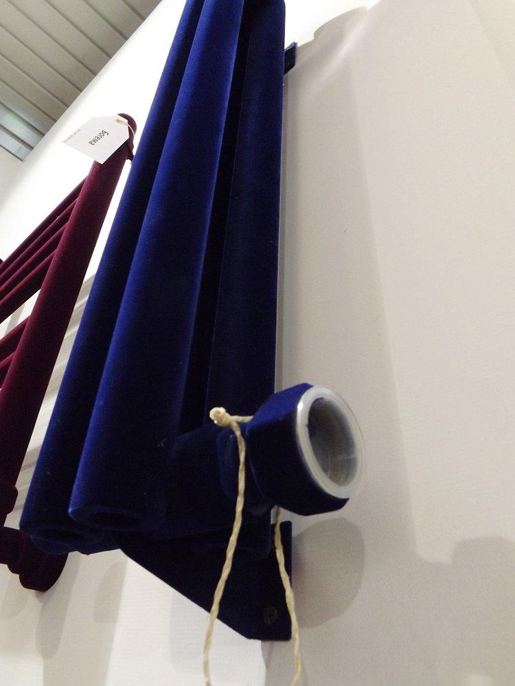 Полотенцесушители Сунержа на московской выставке МосБилд 2014. Вариант бархатистого декоративного покрытия, полученного путём флокирования, и технического решения усиления конвекционных потоков через полые трубки с основным теплоносителем