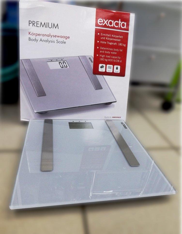 Иллюстрация к описанию размышлений, как выбрать напольные весы для ванной комнаты. Весы Soehnle Exacta. Вид А