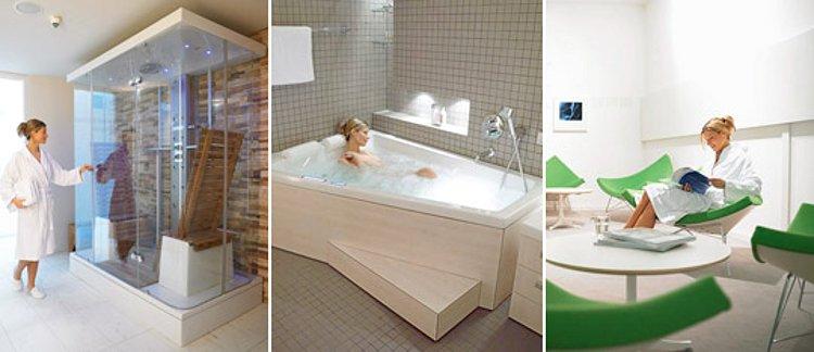 Дизайн-центр Duravit в Хорнберге (Германия), где представлена санкерамика этой немецкой компании